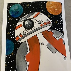 Other - BB-8 painting! Star Wars!!